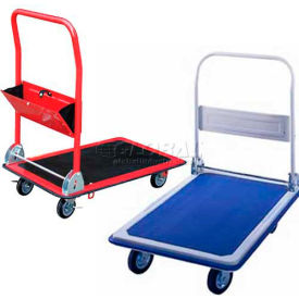 Platform Trucks with Folding Handle