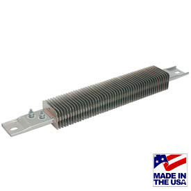 Finned Strip Heaters With Offset Terminals