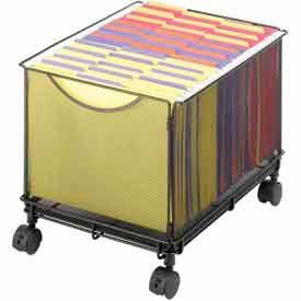 Safco® Onyx™ Mesh File Carts