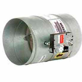 Zoning Modulating Automatic Round Dampers