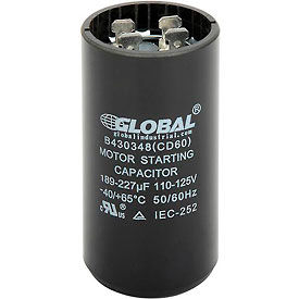 165, 110-225, and 220-250 Volt Start Capacitors