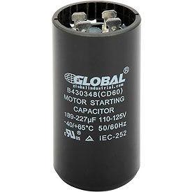 165, 110-225, and 220-250 Volt Start Capacitors
