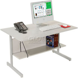 Stationary Computer Desks and Workstations