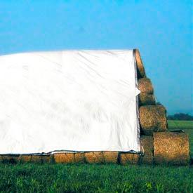 Heavy Duty Hay Tarps Covers - 12 Mils