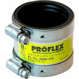"""3000-150 1-1/2"""" LOW FLEX /SHIELDCPL CP-14 CI to Plastic, Steel or XHCI"""