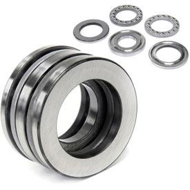 Double Direction Thrust Ball Bearings with Enhanced Limiting Speed