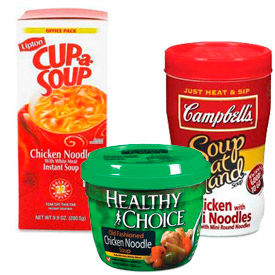 Soups & Microwavable Meals