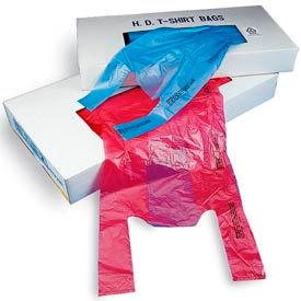 .6 Mil Plastronic T-Shirt Bags