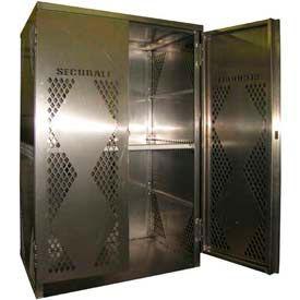Securall® Liquid Propane/Oxygen Vertical Aluminum Cabinets