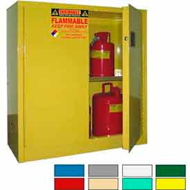 Securall® Flammable Storage Cabinets With Manual Closure