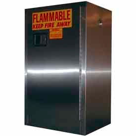 Securall® Stainless Steel Flammable Storage Cabinets