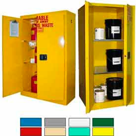 Securall® Hazardous Waste Safety Can Storage Cabinets