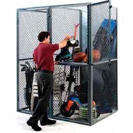 Husky Rack & Wire Tenant Storage Lockers