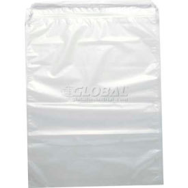 Clear 1.5 And 2 Mil Pull-Tite Double-Drawstring Bags