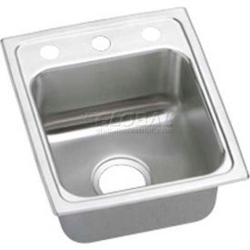 Elkay Gourmet Lustertone ADA Sinks - 2 Faucet Holes