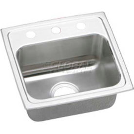Elkay® Gourmet Lustertone®  ADA Sinks - 4 Faucet Holes