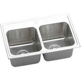 Elkay Gourmet Lustertone Double Sinks