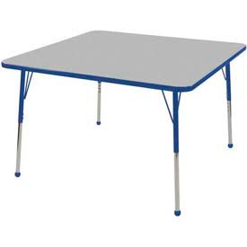 ECR4KIDS® - Square Activity Tables - Standard, Juvenile & Chunky Leg Style