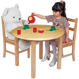 "ECR4KIDS® - Hardwood Activity Tables - 18"" & 22"" HeightLegs"
