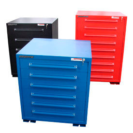 "Equipto Modular Drawer Cabinets, 30"" Wide, 38"" High"
