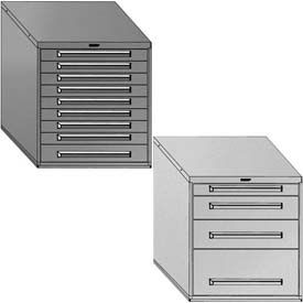 "Equipto Modular Drawer Cabinets, 30"" Wide, 33-1/2"" High"