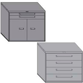 "Equipto Modular Drawer Cabinets, 45"" Wide, 38"" High"