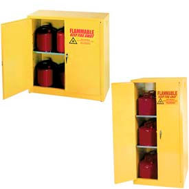 Equipto Two-Door Flammable Liquid Storage Cabinets