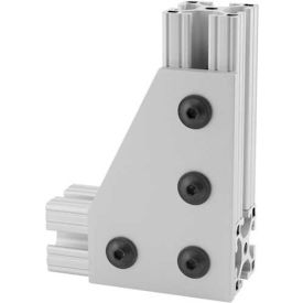 """80/20® 4150 4 Hole 90° Joining Plate, 2""""L"""