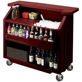 Portable bars for Bar movil de madera