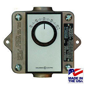 Wall Thermostats For Hazardous Location Convector Heaters