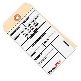 Inventory Tags Carbonless