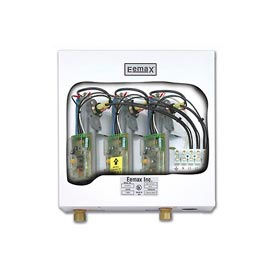 An electric tankless water heater sounds like a great way to save energy and money - no heat loss through tank walls, hot water whenever you need it. But that's not