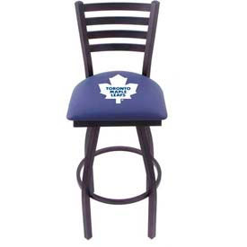 "Sports Bar Stool - NHL Logo Series 25"" Seat Height Bar Stools With Backs"