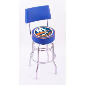 "Sports Bar Stool - NHL Logo Series 30"" Seat Height Bar Stools With Backs"