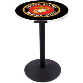 "Holland Bar Stool -  Military Logo Series 36"" Height Pub Tables"