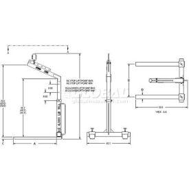 M & W Adjustable Pallet Lifter
