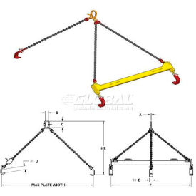 M & W Plate Lifting Beams