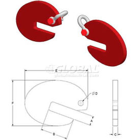 M & W Pipe Lifting Hooks