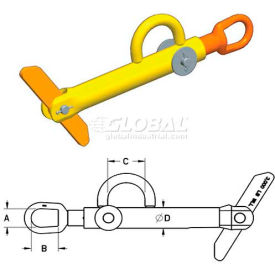 M & W Reel Lifting & Turning Attachments