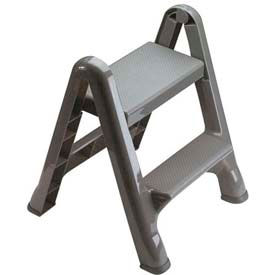 Rubbermaid® 2-Step Folding Step Stool