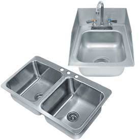 Steel & Granite Drop-In Sinks
