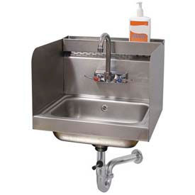 Advance Tabco Hand Sinks With Side Splashes