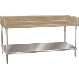 Advance Tabco Bakers Wood Top Worktables