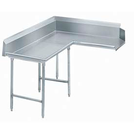 Advance Tabco Korner Clean Dishtables