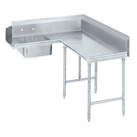 Advance Tabco Korner Soil Dishtable