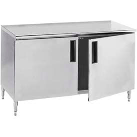 Advance Tabco Worktables With Hinged Doors