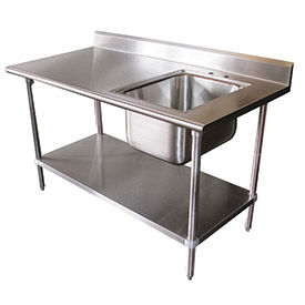 Advance Tabco Worktables With Sink