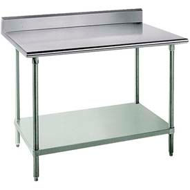 Advance Tabco Worktables With 5 Inch Backsplash