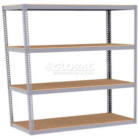 Rapid Rack - 7H Boltless Wide Span Rack Without Deck