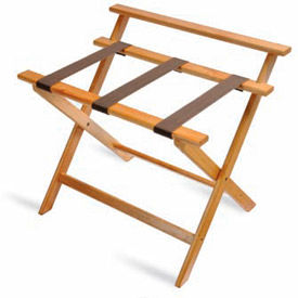 CSL - Wood Luggage Racks - Choice of Flat Top / High Back